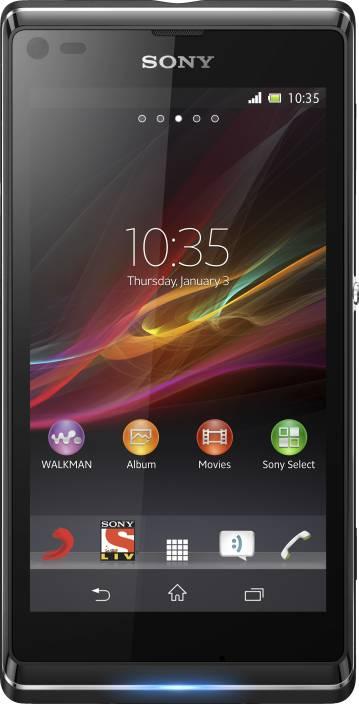 Sony Xperia L (Starry Black, 8 GB)