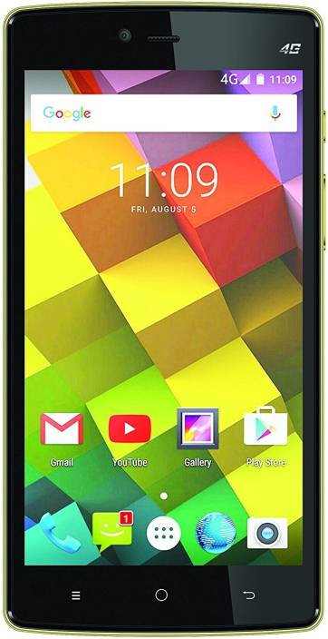 Videocon Cube 3 (Black & Gold, 32 GB)