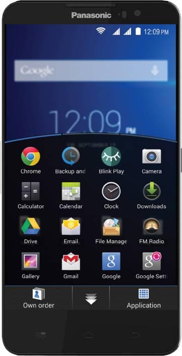 Panasonic Eluga S (Black, 8 GB)