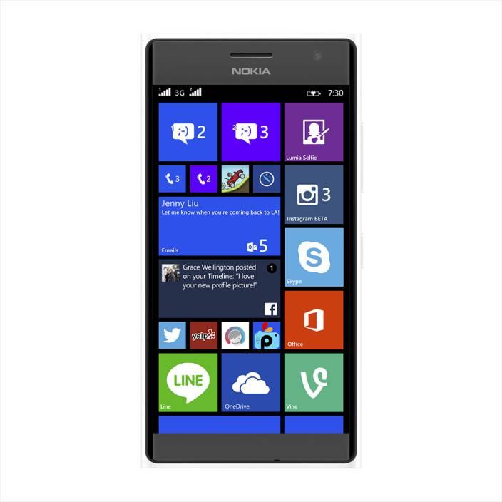 Nokia Lumia 730 (White, 8 GB)