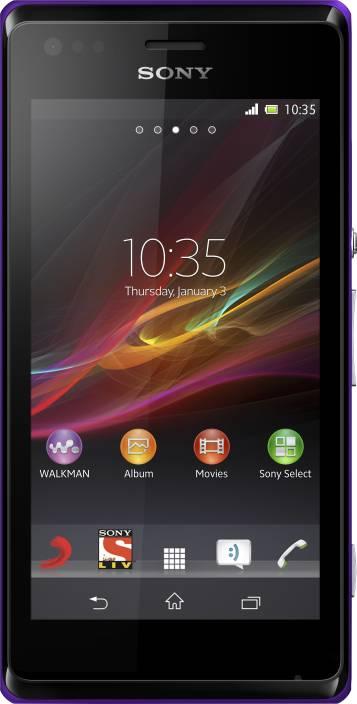 Sony Xperia M (Purple, 4 GB)