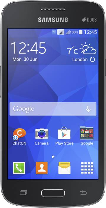 Samsung Galaxy Star Advance (Black, 4 GB)