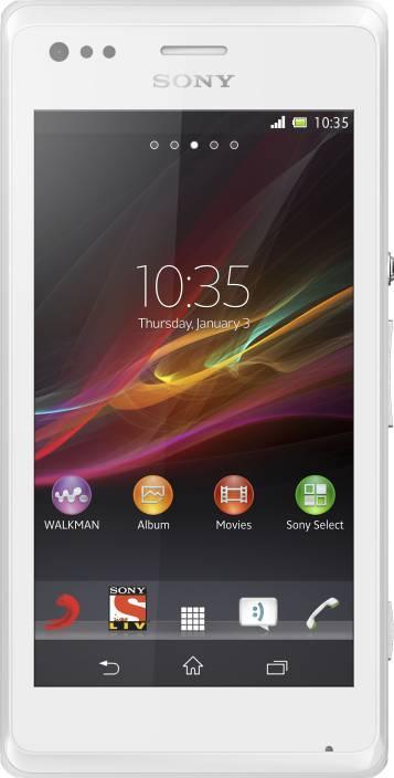 Sony Xperia M (White, 4 GB)