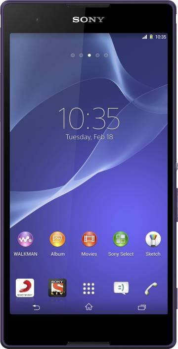Sony Xperia T2 Ultra Dual (Purple, 8 GB)