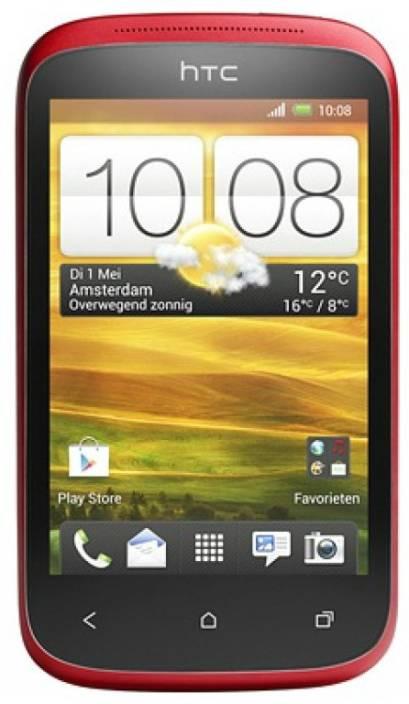 HTC Desire C (Red, 4 GB)