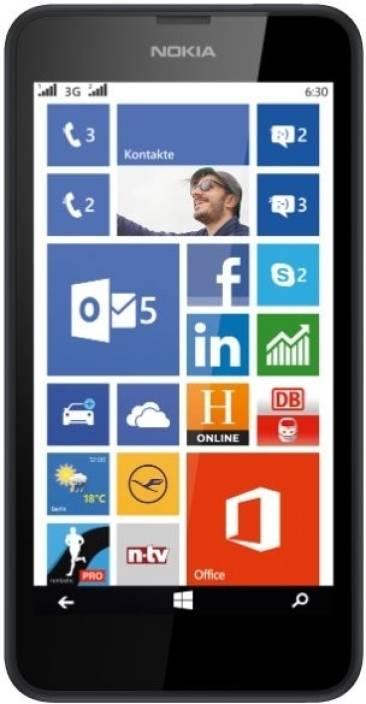 Nokia Lumia 630 (Black, 8 GB)