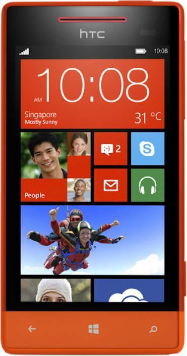 HTC 8S (Fiesta Red, 4 GB)