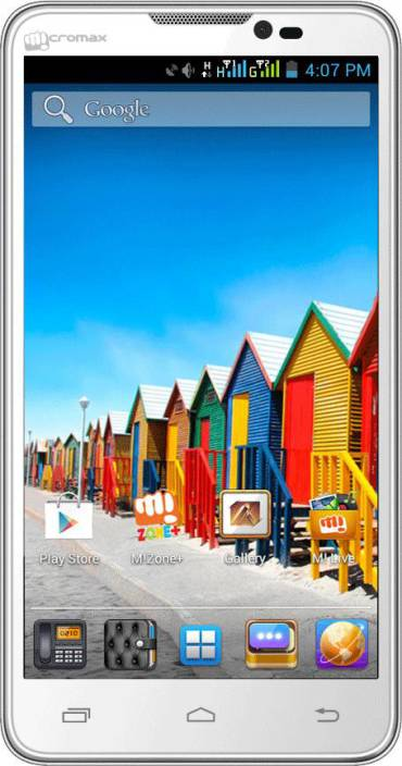 Micromax Canvas Doodle A111 (White, 4 GB)