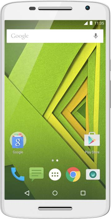 Moto X Play  White, 32   GB  2   GB RAM  available at Flipkart for Rs.18499