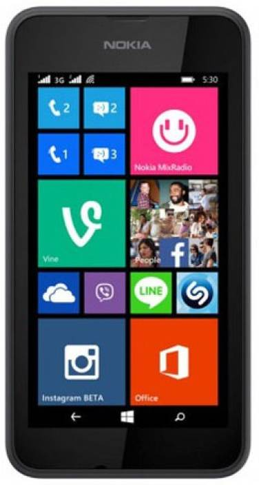 Nokia Lumia 530 (Grey, 4 GB)