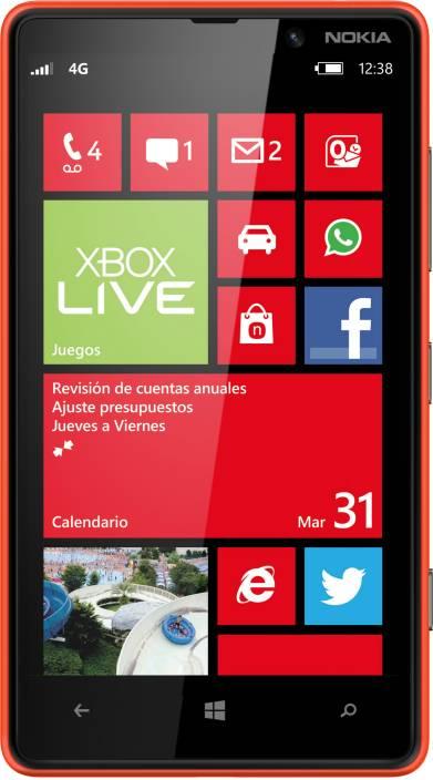 Nokia Lumia 820 (Red, 8 GB)