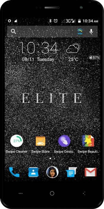 Swipe ELITE (Black, 16 GB)