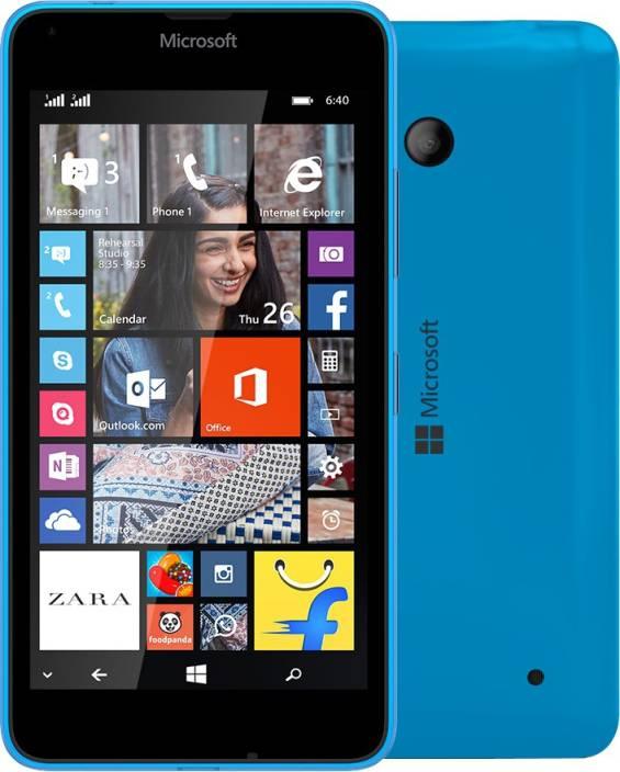 Microsoft Lumia 640 (Cyan, 8 GB)
