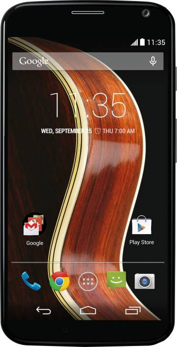 Moto X (Black/Walnut, 16 GB)