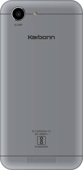 Karbonn Titanium Vista (Black & Grey, 8 GB)
