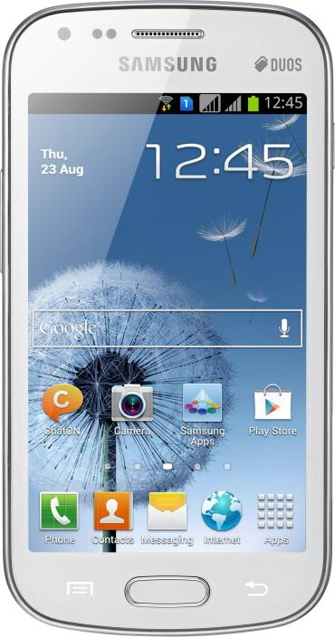 Samsung Galaxy S Duos (White, 4 GB)