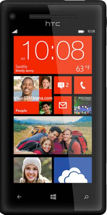 HTC Windows Phone 8X by HTC (Black, 16 GB)