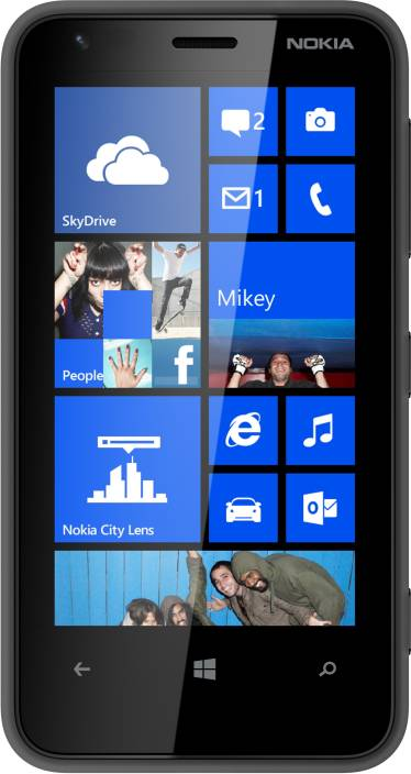Nokia Lumia 620 (Black, 8 GB)