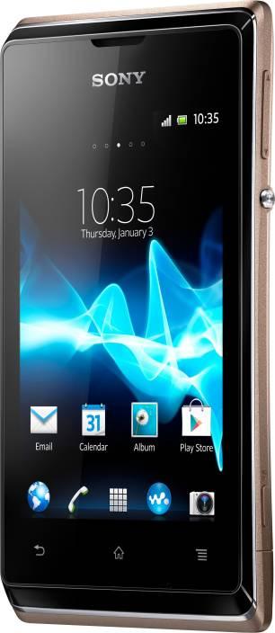 Sony Xperia E Dual (Champagne, 4 GB)