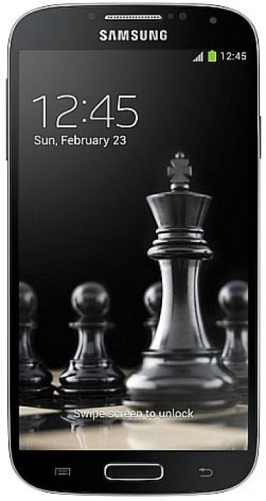 Samsung Galaxy S4 (Deep Black, 16 GB)
