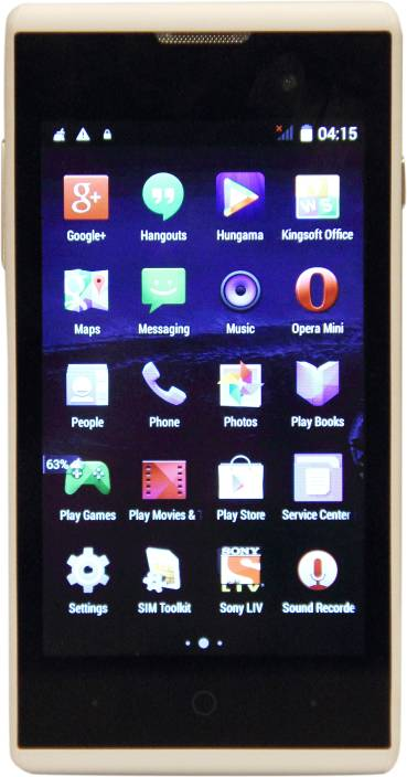 ZTE Blade Buzz V815W (White, 512 MB)
