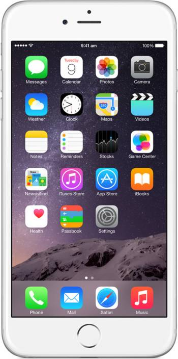 apple iphone 100. apple iphone 6 plus (silver, 16 gb) iphone 100