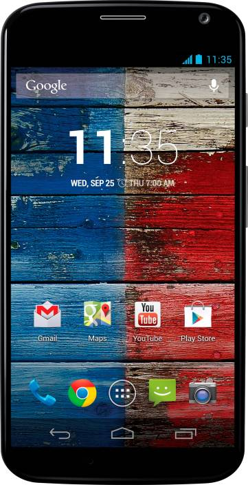 Moto X (Black/Blue, 16 GB)