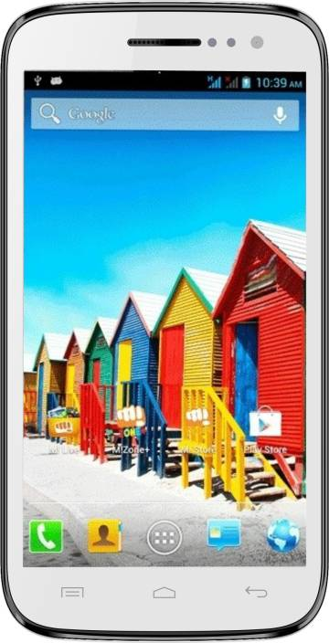 Micromax Canvas HD (White, 4 GB)