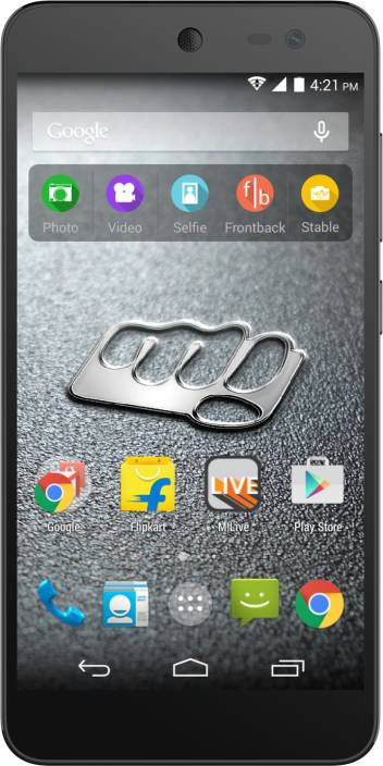 Micromax Canvas Xpress 2 (Black & Champagne, 8 GB)