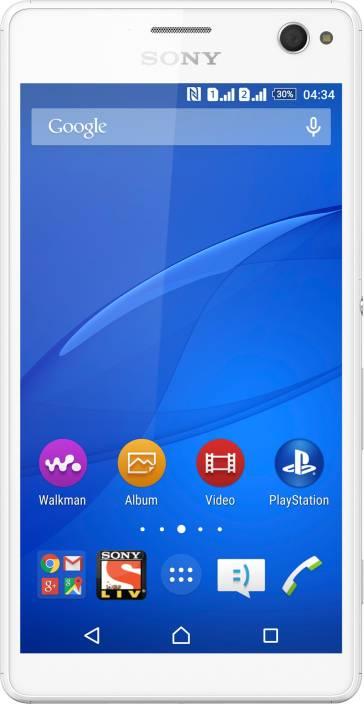 Sony Xperia C4 Dual (White, 16 GB)