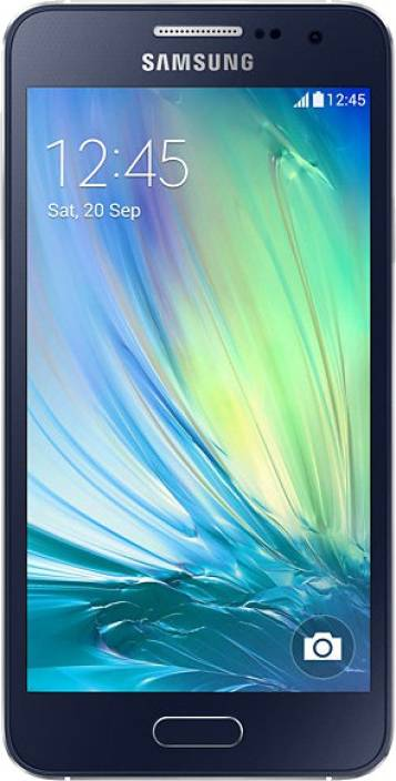 Samsung Galaxy A3 (Midnight Black, 16 GB)