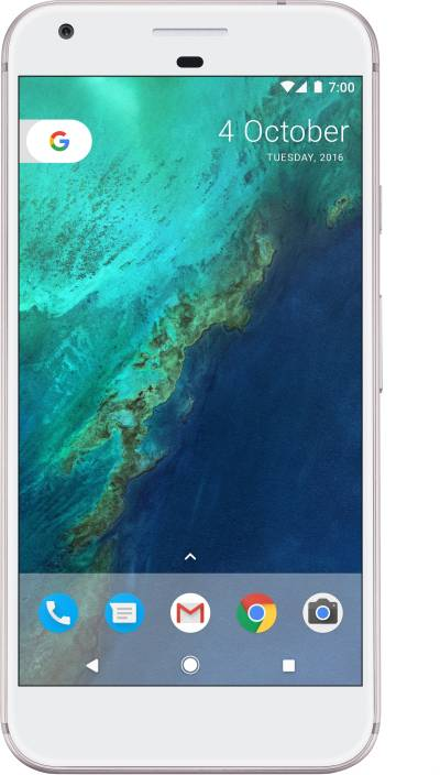 Google Pixel (Very Silver, 32 GB)