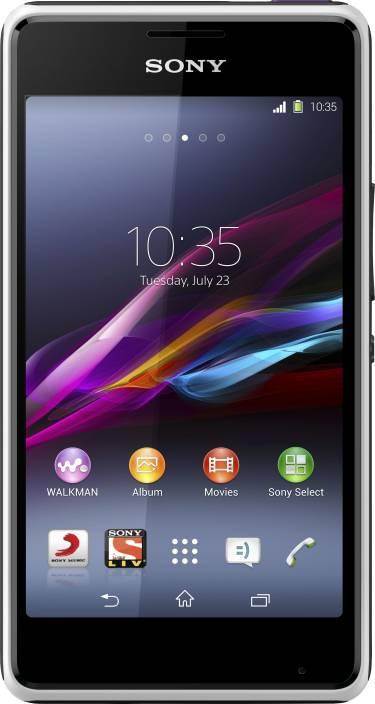 Sony Xperia E1 (White, 4 GB)