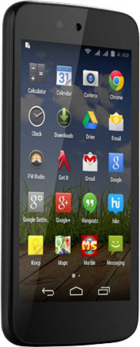 Micromax Canvas A1 (Black, 4 GB)