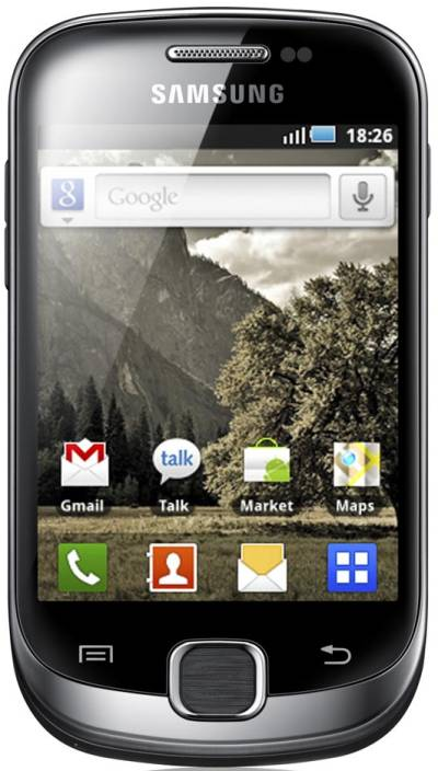 Samsung Galaxy Fit (Metallic Black, 160 MB)