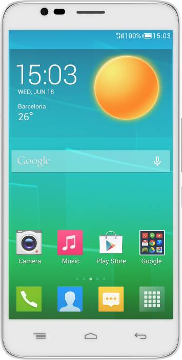 Alcatel Onetouch Flash 6042D (Crystal White, 8 GB)