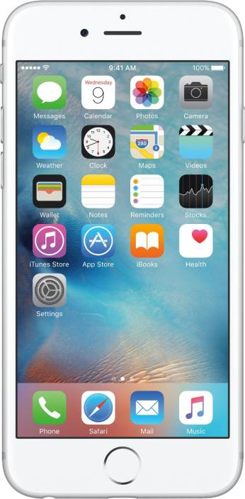Apple iPhone 6s (Silver, 16 GB)