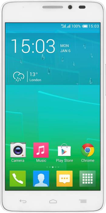 Alcatel Onetouch Idol X Plus (White, 16 GB)