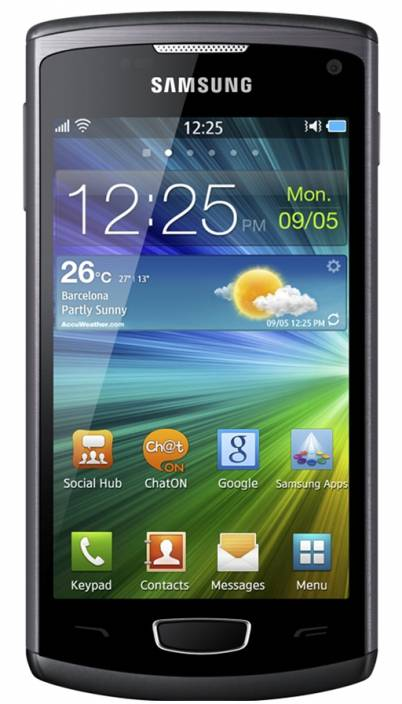 Samsung Wave III (Metallic Black, 4 GB)