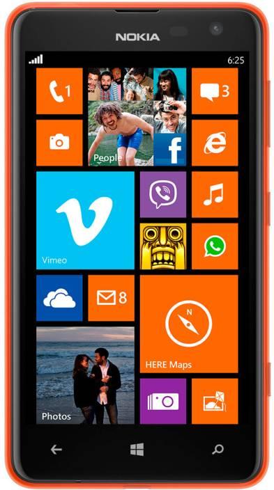 Nokia Lumia 625 (Orange, 8 GB)