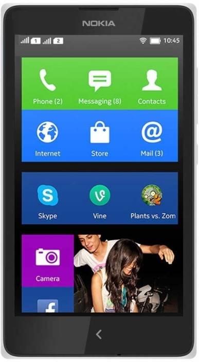 Nokia X (White, 4 GB)