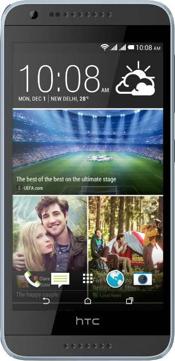 HTC Desire 620G Dual Sim (Milky-way Grey, 8 GB)