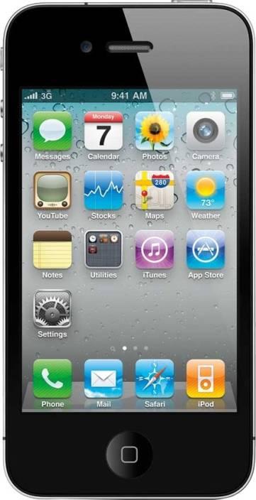 Apple iPhone 4s (Black 7009c35222