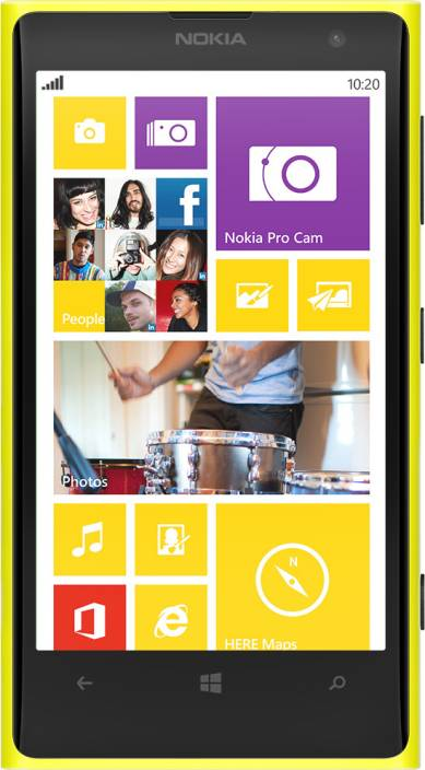 Nokia Lumia 1020 Yellow 32 GB Online At Best Price With