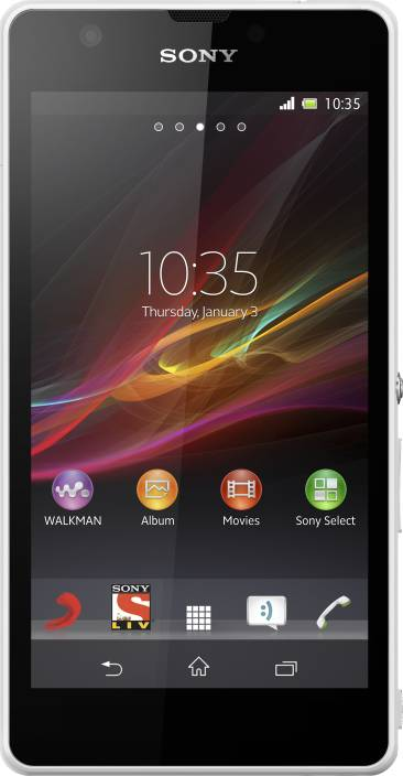 Sony Xperia ZR (White, 8 GB)