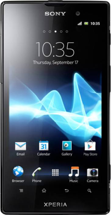Sony Xperia Ion (Black, 16 GB)