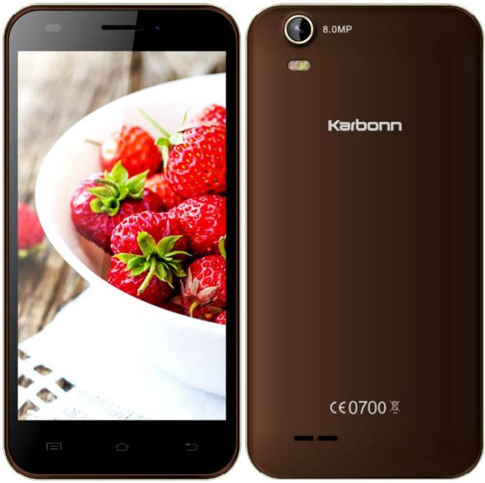 Karbonn Titanium S200 HD Android 5.1 Lollipop (Coffee+Champagne, 8 GB)
