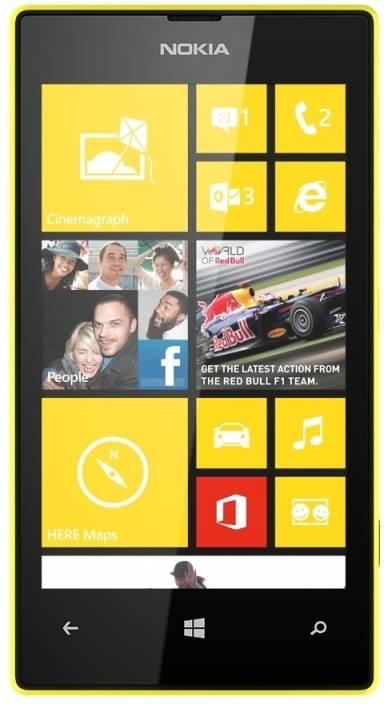 Nokia Lumia 520 (Yellow, 8 GB)