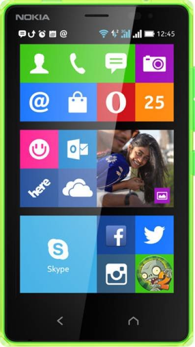 Nokia X2 Dual Sim Bright Green 4 Gb Online At Best Price Only On