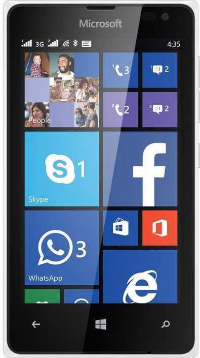 Microsoft Lumia 435 (White, 8 GB)